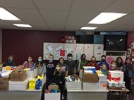 MS Student Council Food Drive