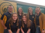 The Paulding FFA Sends 6 Officers to Leadership Summit.