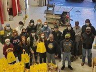 Here are the 17 Paulding FFA students who delivered snack packs to the farmers in Paulding County.