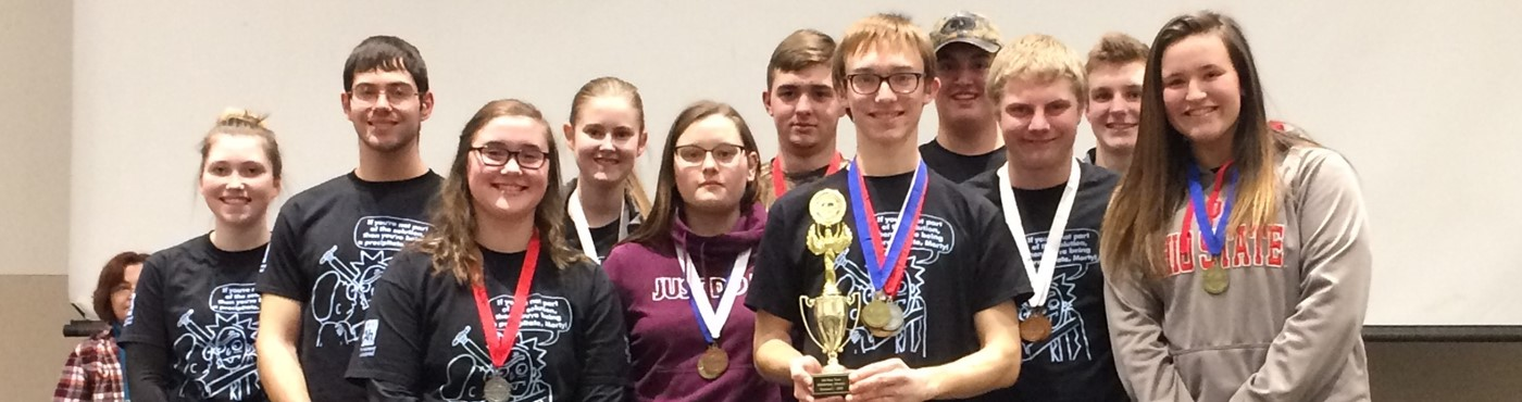 HS Science Olympiad winners