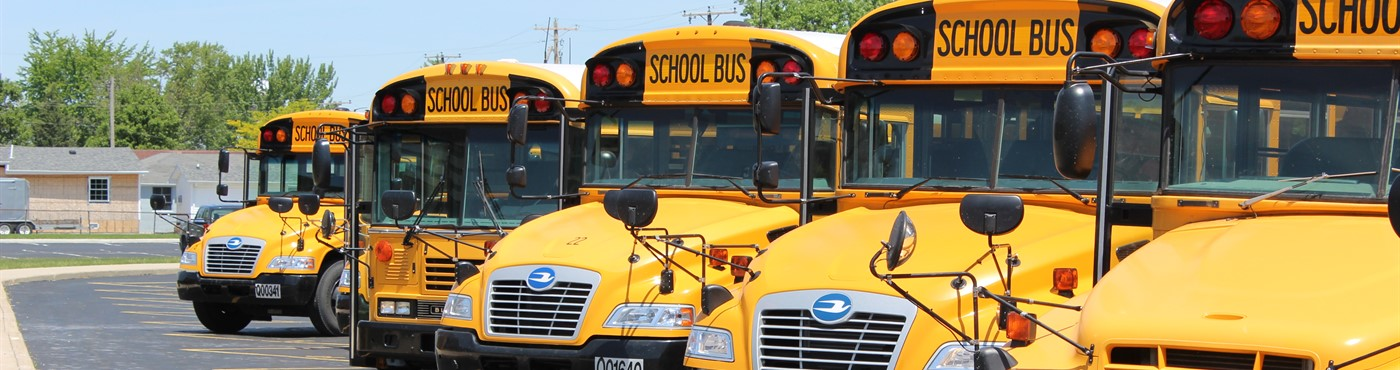 Paulding Bus Line Up for dismissal