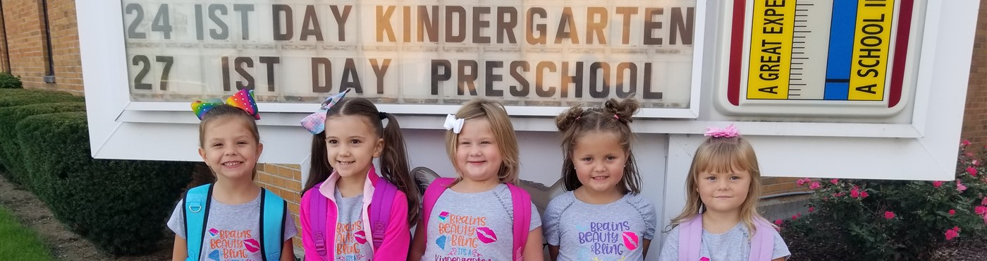 First day for Kindergarten!