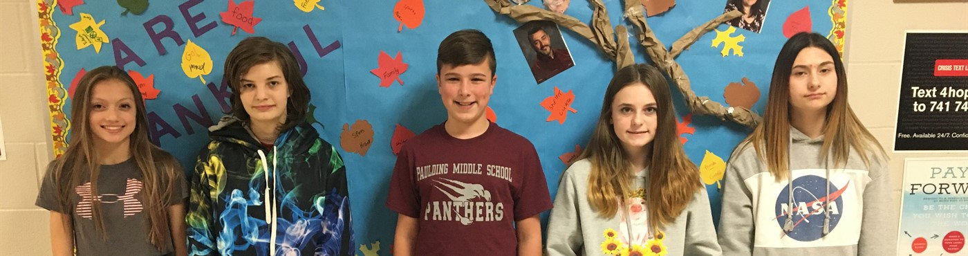 Nov 2019 Students of the Month