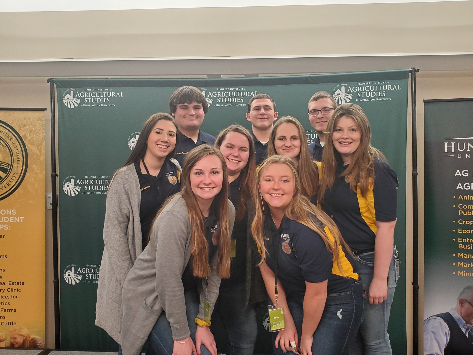 FFA Officers Attend Leadership Conference