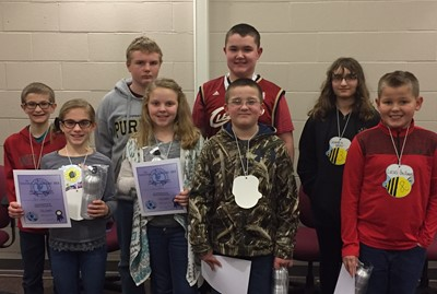 Geography Bee participants