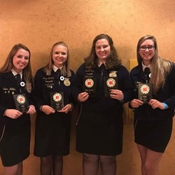 FFA Poultry Judging Team - 1st Place at National Big E Competition