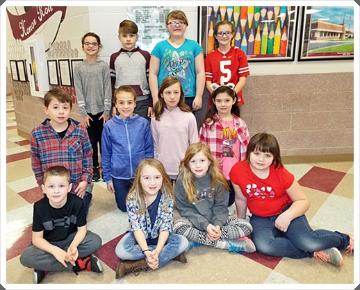 Students of the Month January