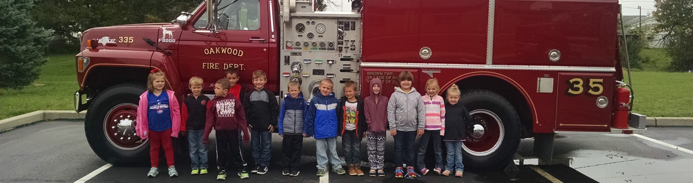 Oakwood Kdg & Fire Truck